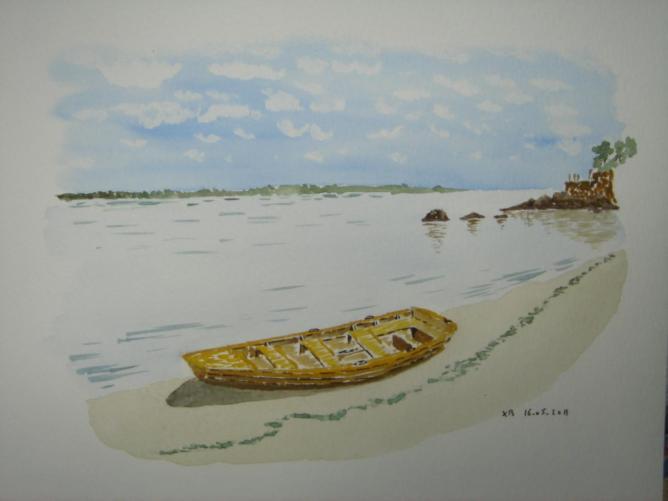 canot aux Oiseaux, Beg-Meil