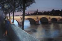 Pont Marie, soir de printemps