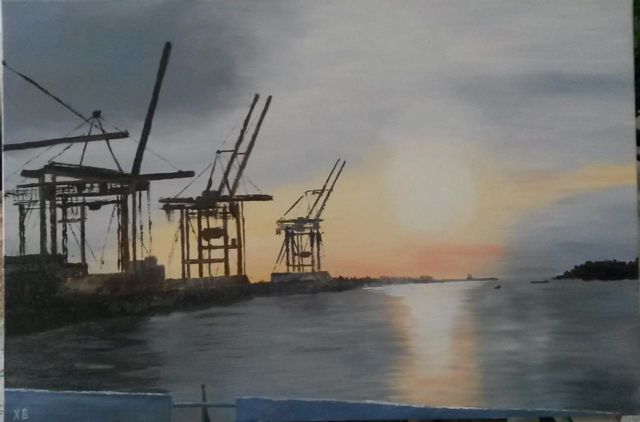 Hambourg, sur l'Elbe