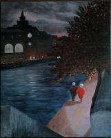 Orsay 2 (acrylique petit format)