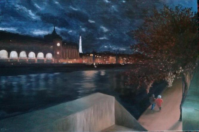 Orsay, soir d'automne